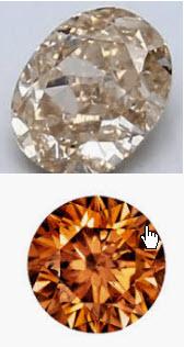 Argyle Coloured Diamonds Review - Cognac Champagne Diamonds