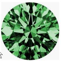 Argyle Coloured Diamonds Review - Green Diamonds