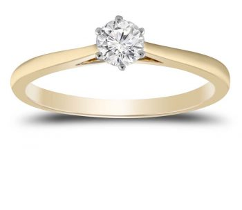 Broome's Quality Jewellery - Diamond and Gold Ring