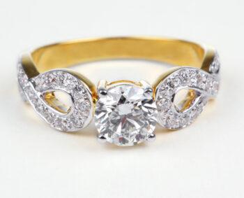 Unique Cushion Cut Engagement Rings