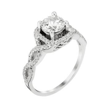 Unique Marquise Engagement Ring