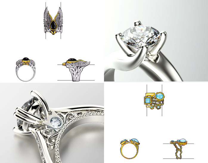 Jewellery Designing and Manufacturing